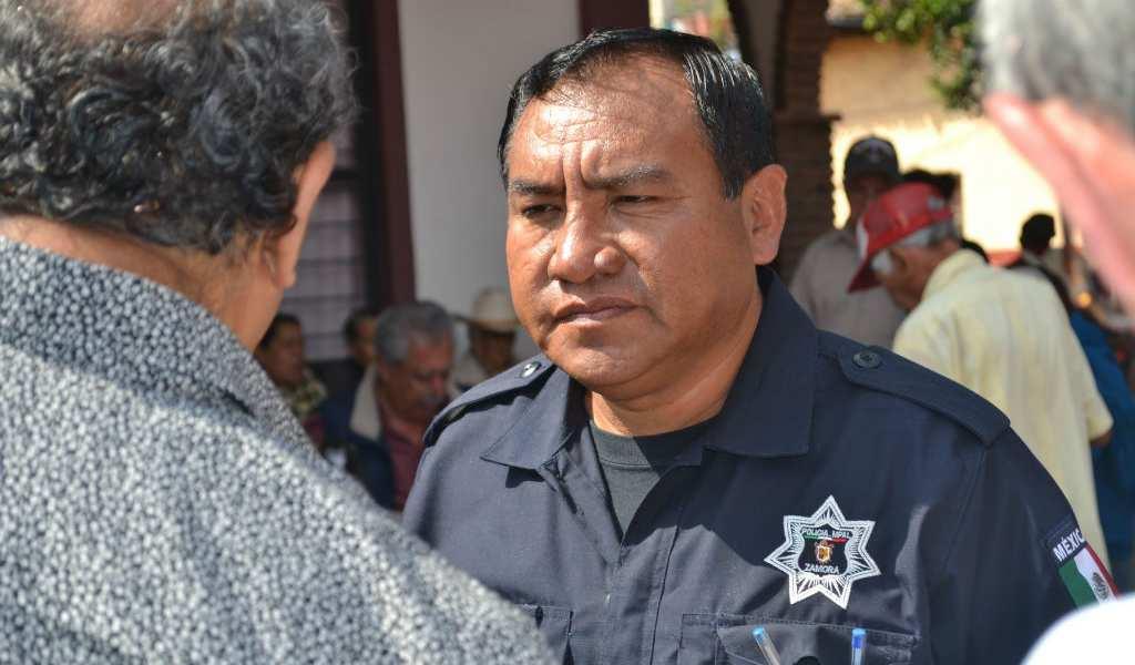 Jefe de seguridad de Zamora, Michoacán.