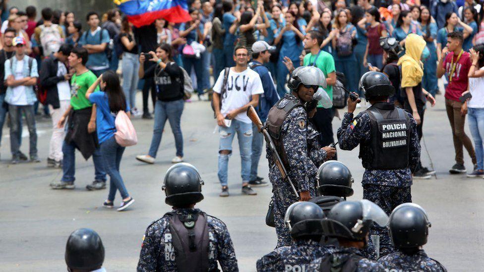 Momentos de tensión para el pueblo venezolano.