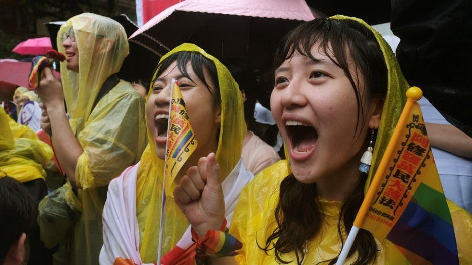 Taiwán legaliza el matrimonio entre personas del mismo sexo
