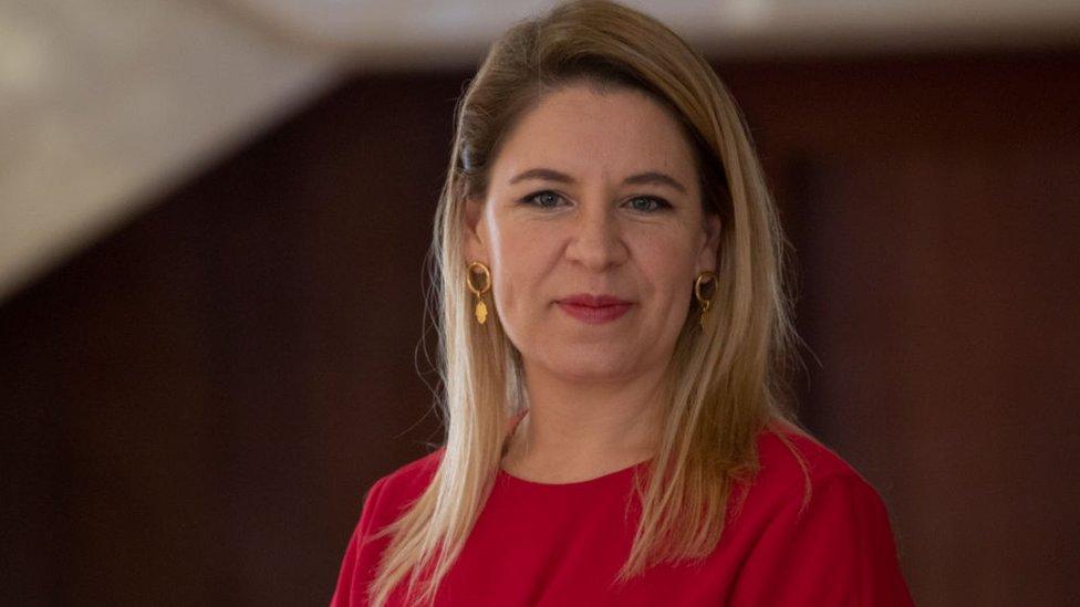 """Claudia Dobles, primera dama de Costa Rica y la única latina en la lista de """"Fortune"""" de los 50 líderes más importantes del mundo"""