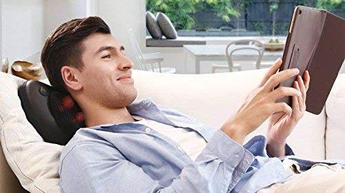6 masajeadores de espalda y cuello para relajarte después de un largo día de trabajo