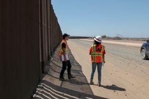 Aceleran la construcción del muro fronterizo en medio de la crisis del coronavirus