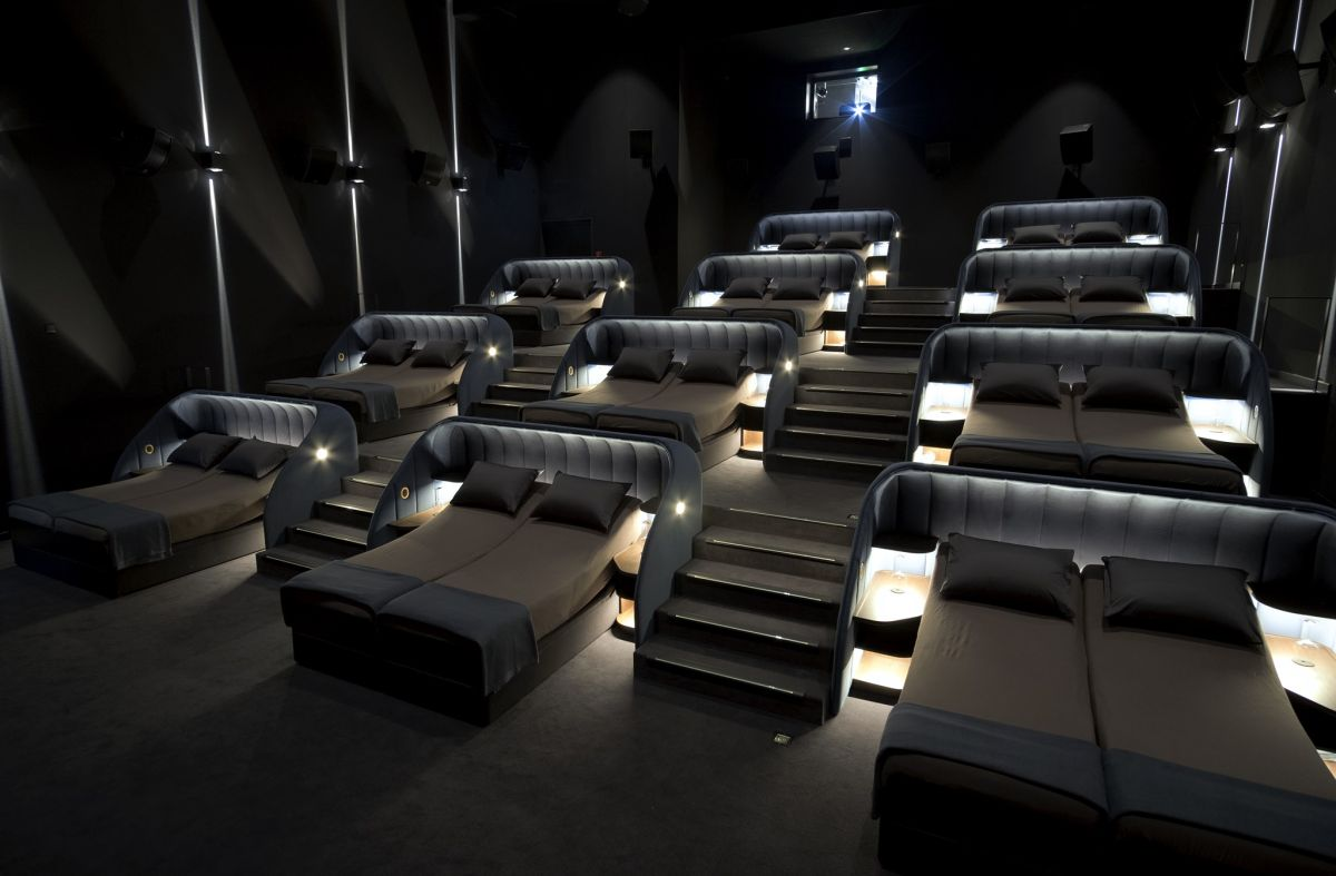 Salas de cine en Suiza.