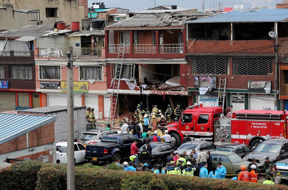VIDEO: Fuerte explosión en Bogotá deja 4 muertos y al menos 20 heridos