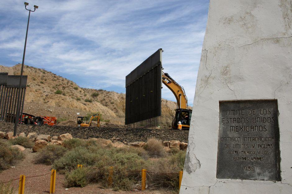 Revelan que nuevo jefe de DHS visitó en secreto un tramo privado de muro fronterizo