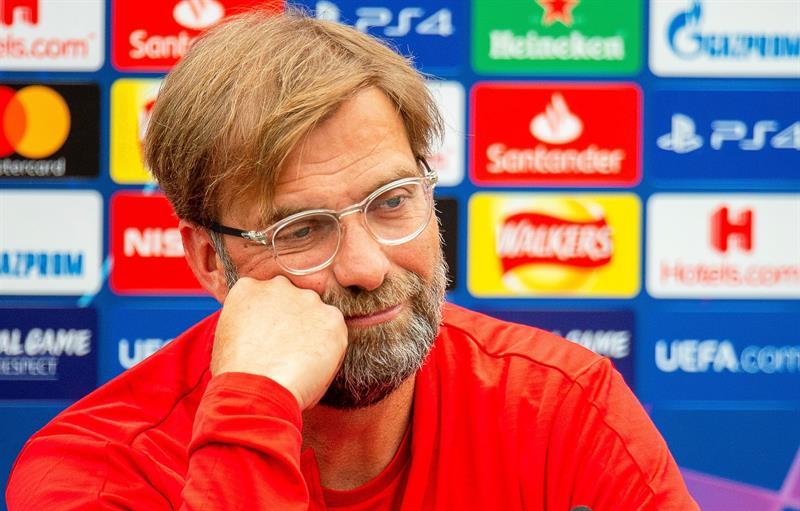 Jürgen Klopp, director técnico de Liverpool