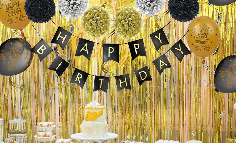 7 Kits De Decoración Para Organizar Una Fiesta De Cumpleaños De último Minuto La Opinión