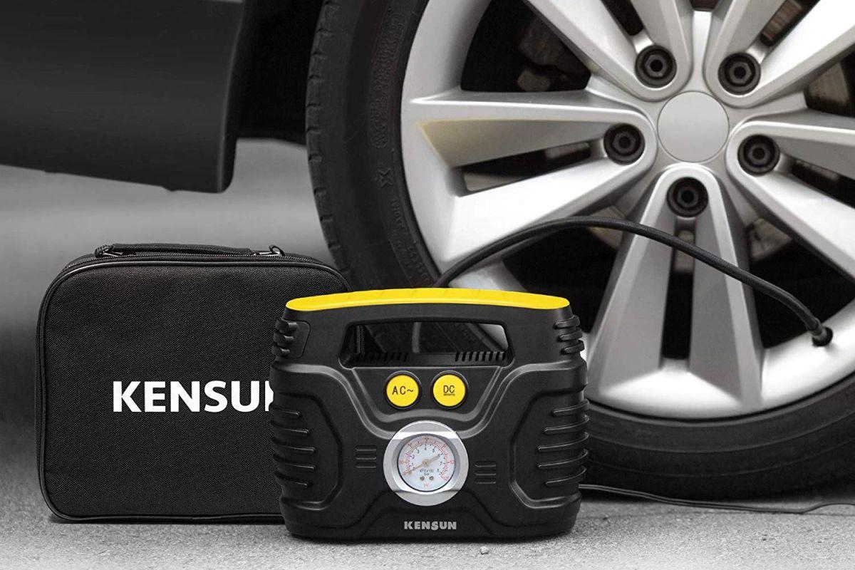 5 compresores de aire portátiles que debes tener en tu auto para inflar los neumáticos
