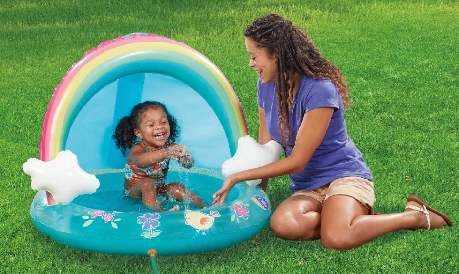 10 piscinas inflables para bebés perfectas para los días soleados