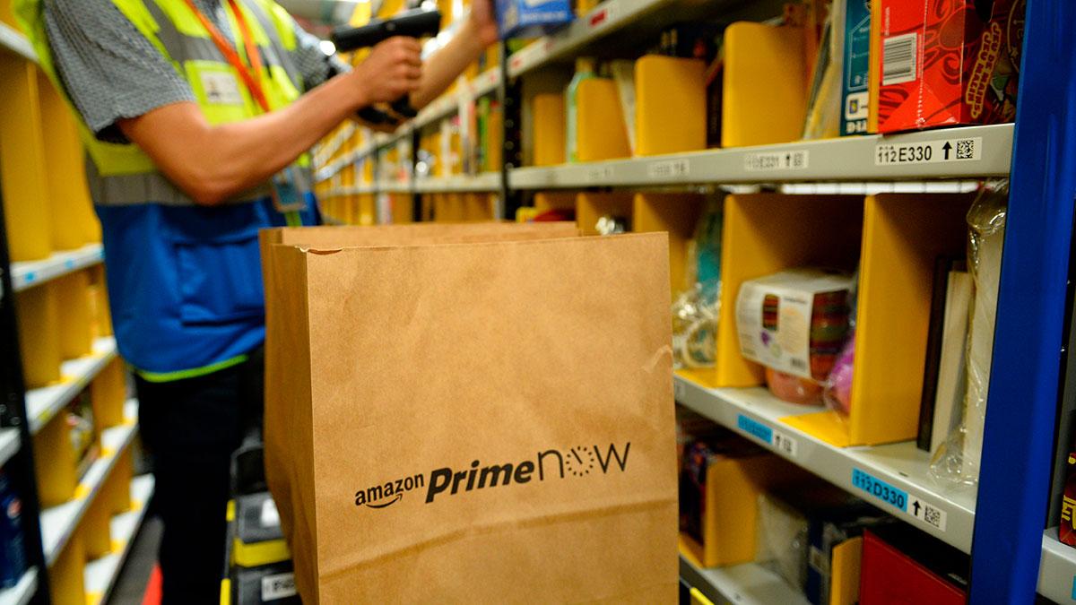 Amazon contratará a cientos de personas para su servicio de entregas a domicilio