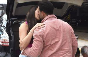 Paparazzi: Captan a Jencarlos Canela besándose con su novia, la ex Miss Puerto Rico, Dana Hernández