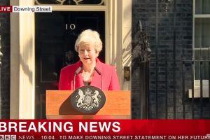 Primera ministra Theresa May anuncia que se va en dos semanas; Brexit sigue en el limbo