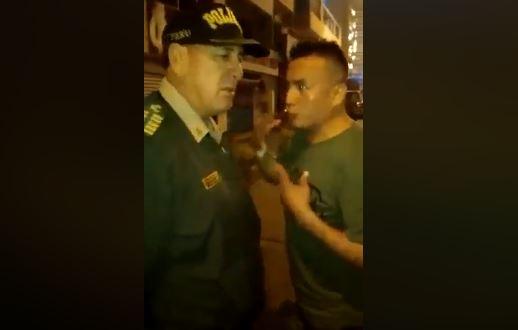 La increíble razón por la que este hombre suplica a la policía que lo arreste