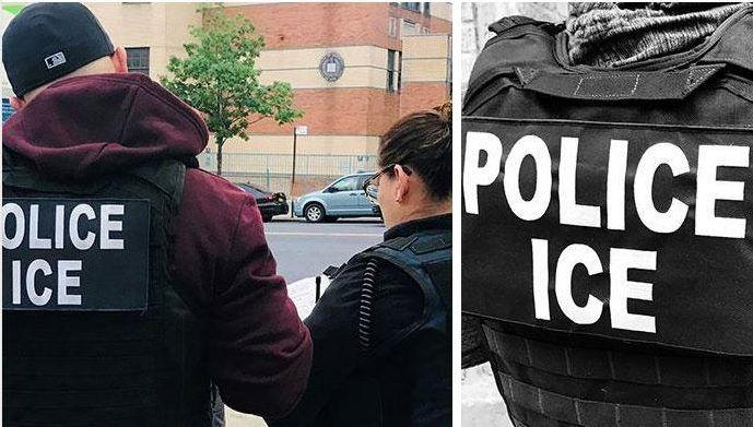 Inmigrantes de más de 11 países fueron arrestados por ICE