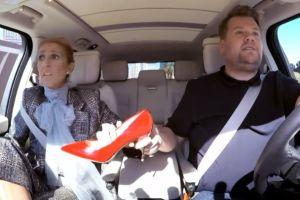 Céline Dion regala algunos de sus diez mil pares de zapatos en las calles de Las Vegas