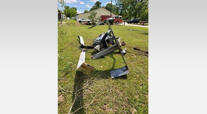 Texas: Se estrella helicóptero, el piloto sobrevive en Montgomery