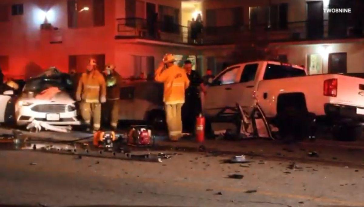 Video: Buscan a causantes de choque que dejó dos hermanos muertos en Highland Park