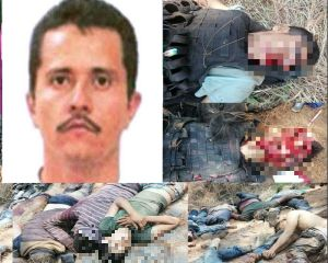 """La furia de """"El Mencho"""" se desata tras matanza en Michoacán; Narcomanta así lo demuestra"""