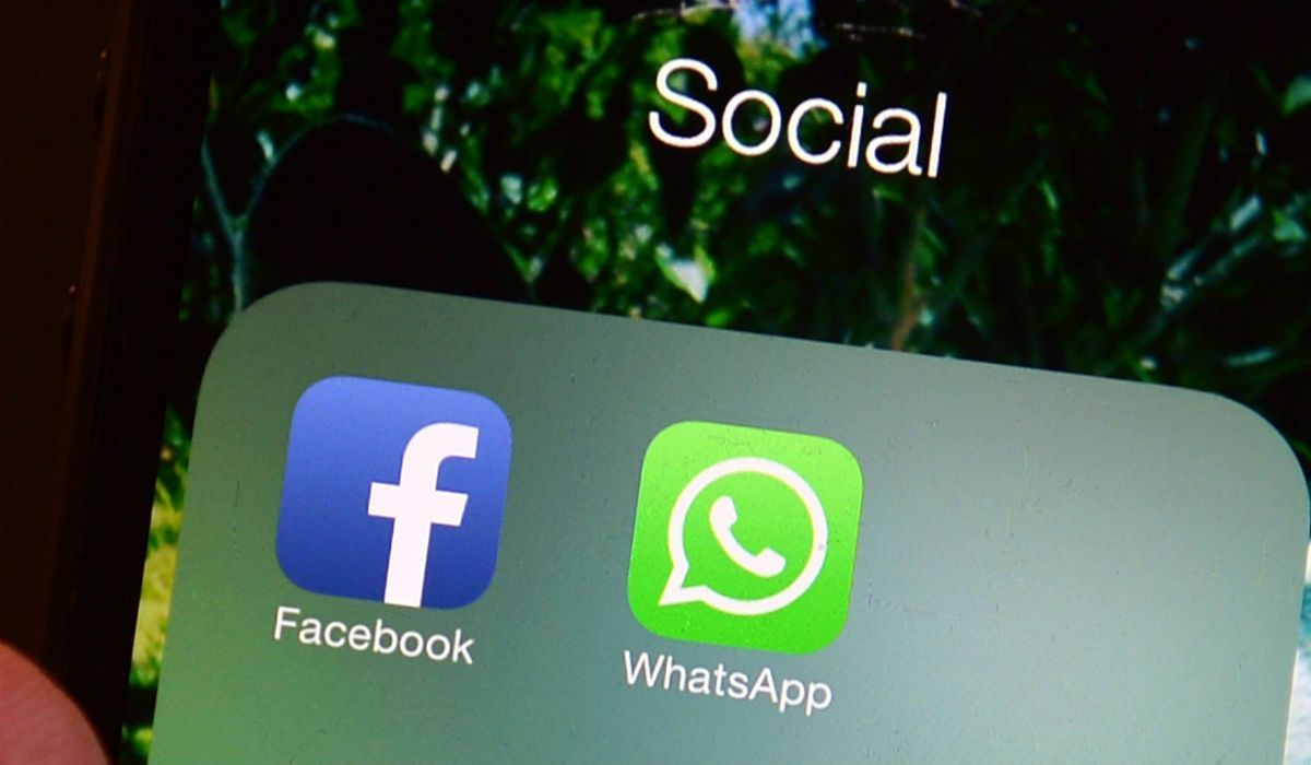 WhatsApp, aplicación de mensajería propiedad de Facebook