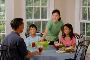 7 motivos para comer a diario en familia