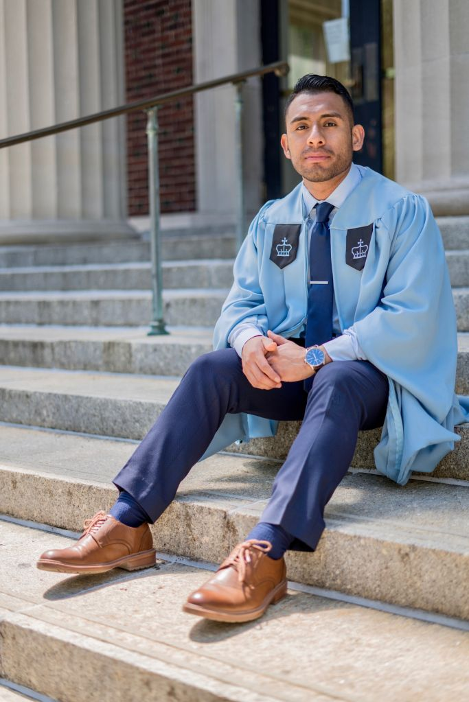 Oaxaqueño DACA logra su maestría en Columbia, la universidad de sus sueños