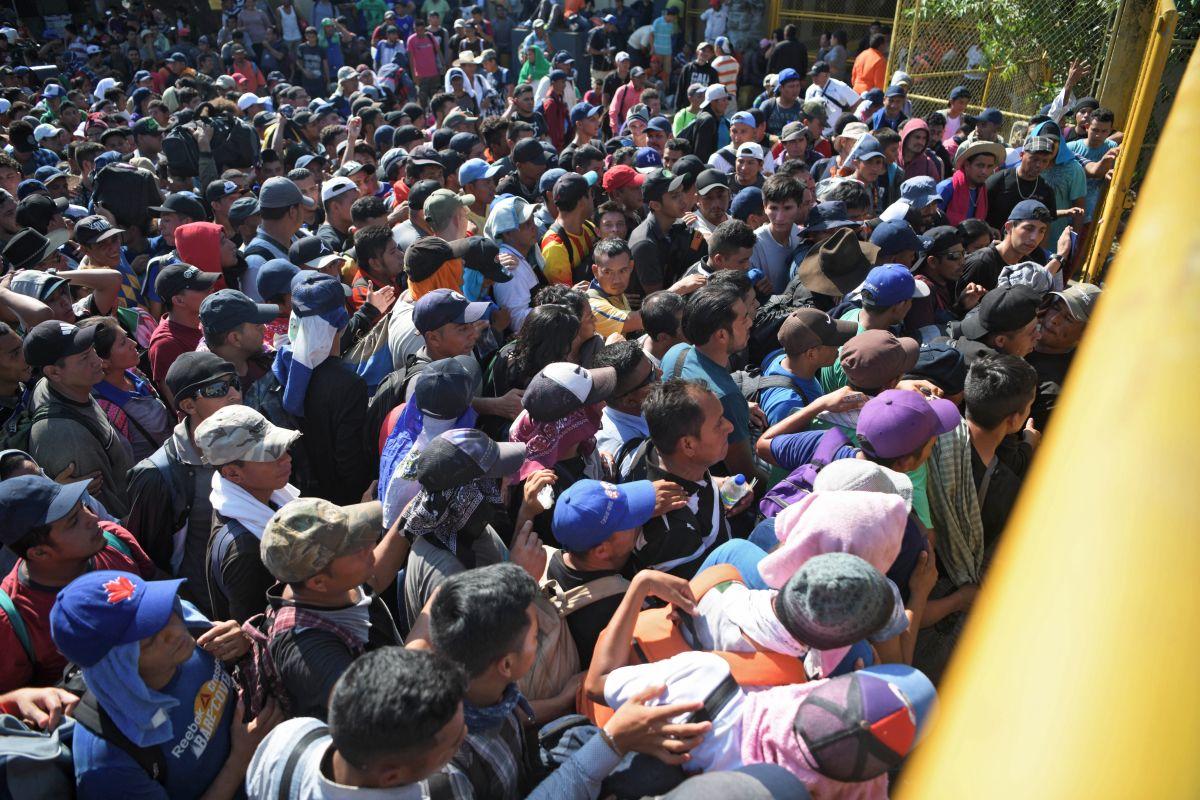 Guatemala ha enfrentando el aumento de las caravanas de inmigrantes.