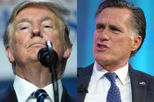 Mitt Romney le manda un fuerte derechazo a Trump