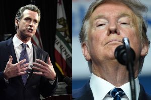 Newsom firma ley que castiga a Trump para 2020