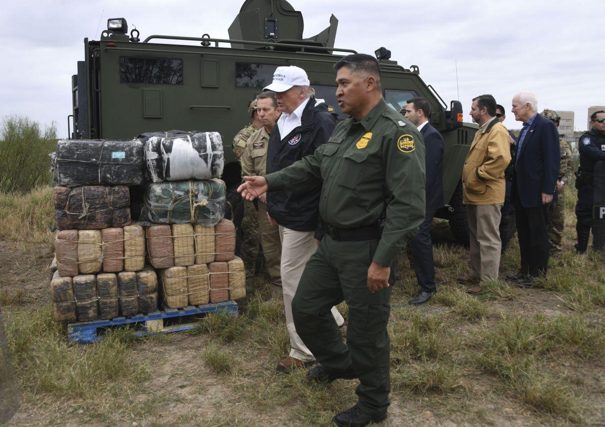 El presidente Trump tiene entre sus prioridades el control de la frontera.