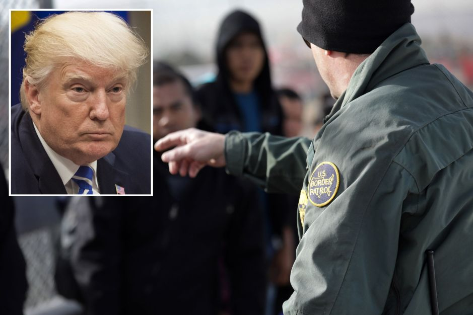 Trump ordena reglas más duras contra inmigrantes que piden asilo