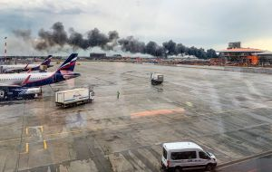 Rusia: Asciende a 41 el número de fallecidos tras accidente aéreo