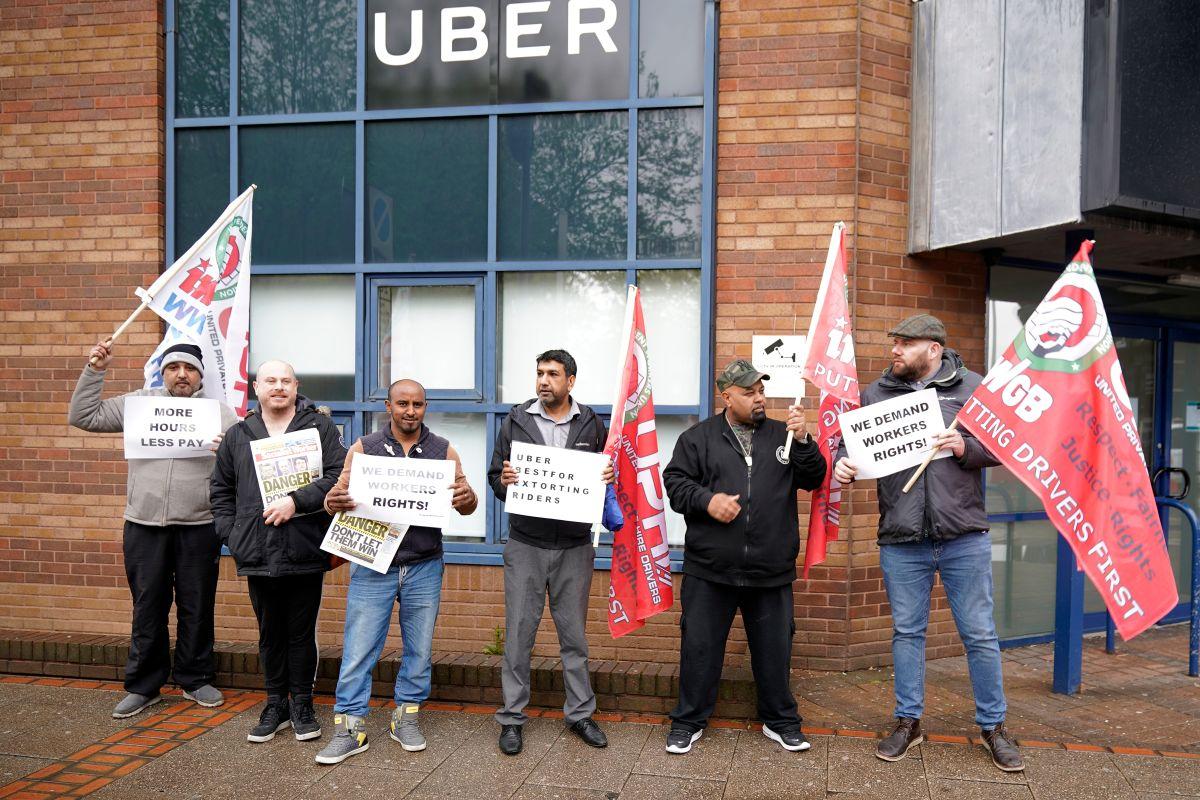 ¿Por qué miles de conductores de Uber y Lyft protestaron en todo el país?