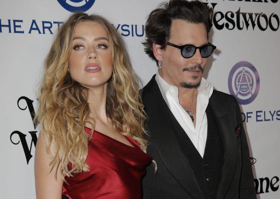 Así fue la problemática historia de amor entre Johnny Depp y Amber Heard