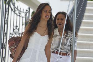 Sasha, la hija pequeña de Obama, luce espectacular para su baile de graduación