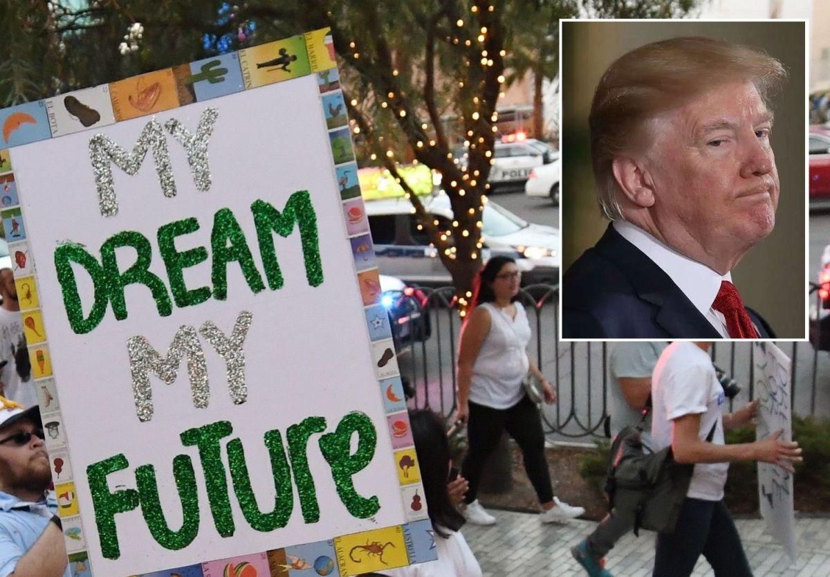 """Trump ha sembrado el miedo entre los 'soñadores'. La deportación haría """"peligrar sus vidas"""""""