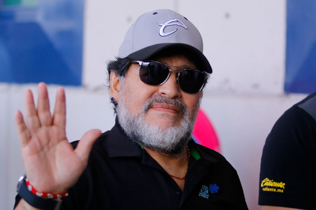 Maradona dedicó un video emotivo de más de tres minutos a sus seguidores en Instagram