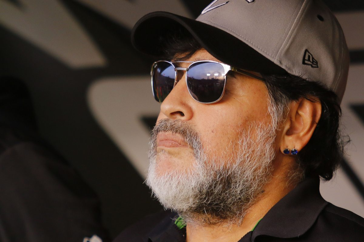 Maradona quiere dirigir a un equipo legendario de la Premier League