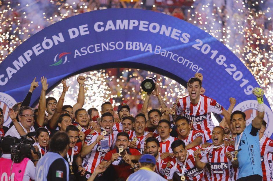 Atlético San Luis derrotó a Dorados y ya es el nuevo equipo de la Liga MX