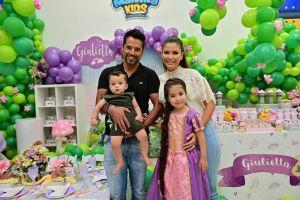 Todo lo que pasó en el cumpleaños de Giulietta, la hija de Ana Patricia Gámez