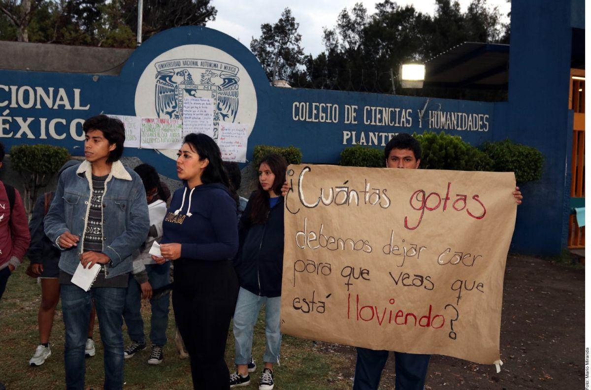 Fue una bala perdida la que mató a Aideé Mendoza, alumna de la UNAM