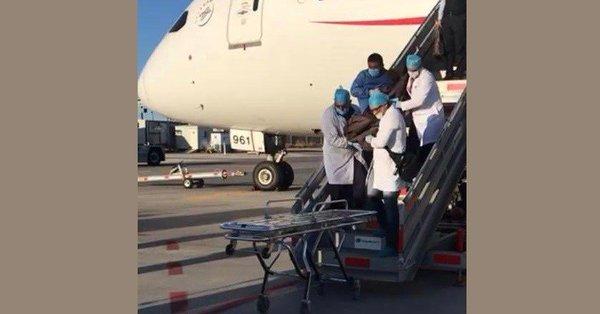 Muere japonés en vuelo de Aeroméxico, tenía droga en el estómago