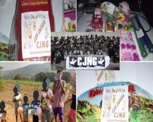 """""""El Mencho"""" manda a su gente del CJNG a regalar juguetes a niños en Veracruz"""