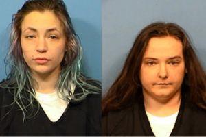 Dos mujeres fueron arrestadas por numerosos robos de vehículos, casas y una caja de donaciones en Wheaton, Illinois