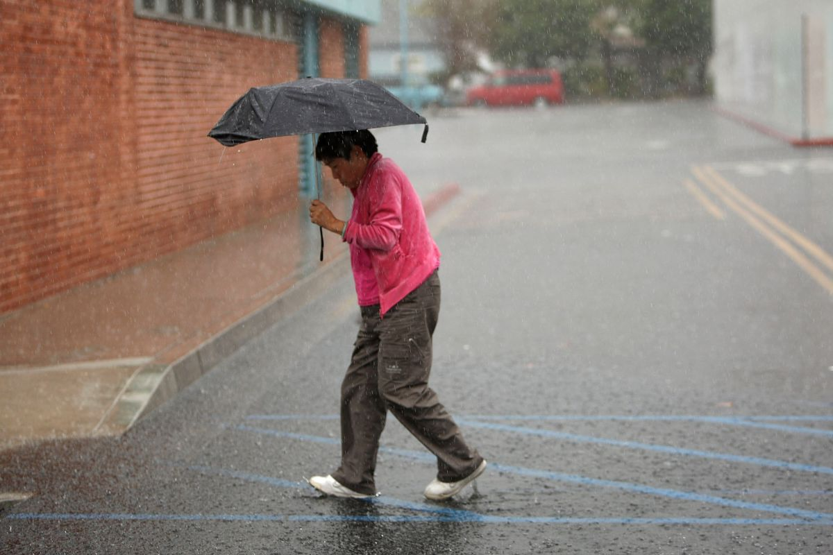 Más episodios de lluvia este fin de semana en el sur de California