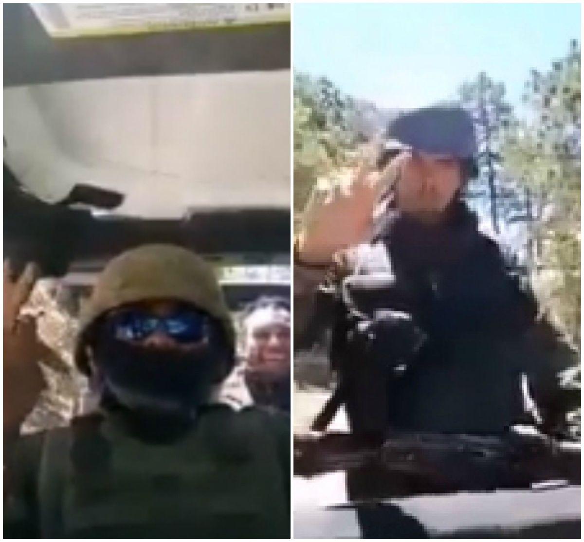VIDEO: Grupo armado del Cártel de Los Viagras preparan sorpresa al CJNG y El Mencho
