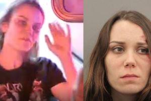 Mujer cruza por investigación fatal y patea a oficial durante prueba de DWI