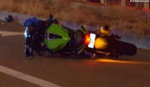 Peatón muere tras ser atropellado por una motocicleta durante persecución
