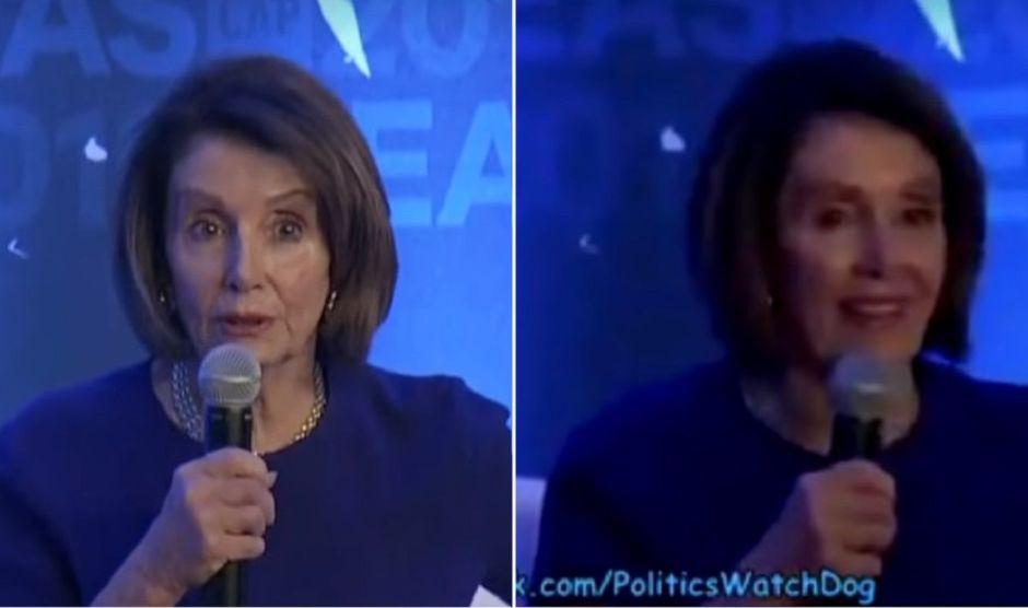 Facebook y el polémico video de Nancy Pelosi donde parece borracha
