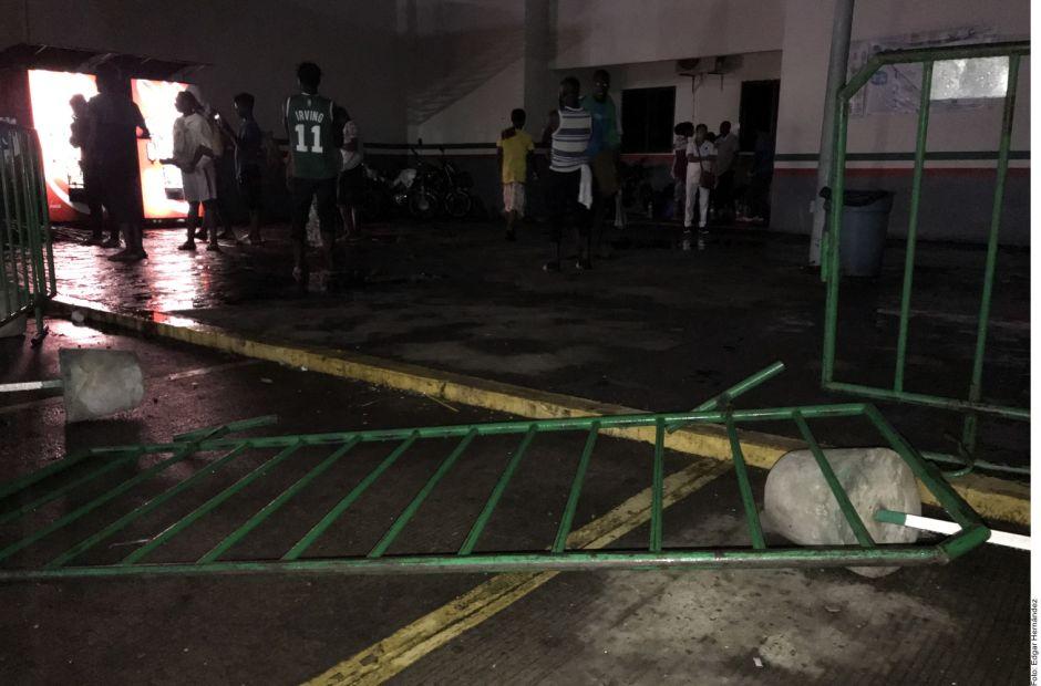 Nueva fuga de migrantes cubanos en Tapachula, Chiapas; aprovecharon apagón