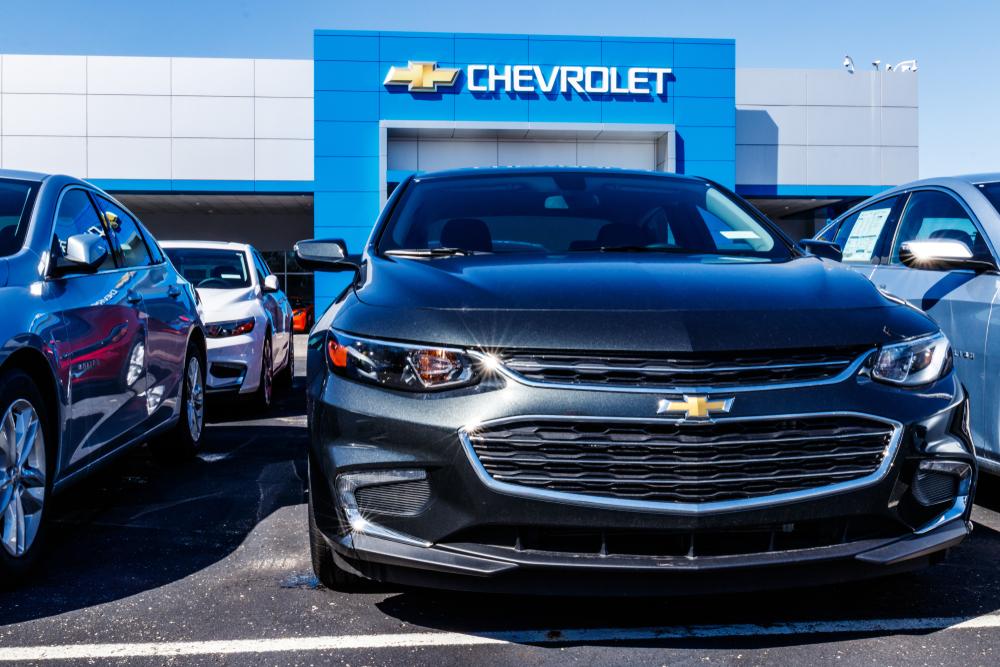 Chevrolet también abre la opción de poder comprar vehículos sin salir de casa